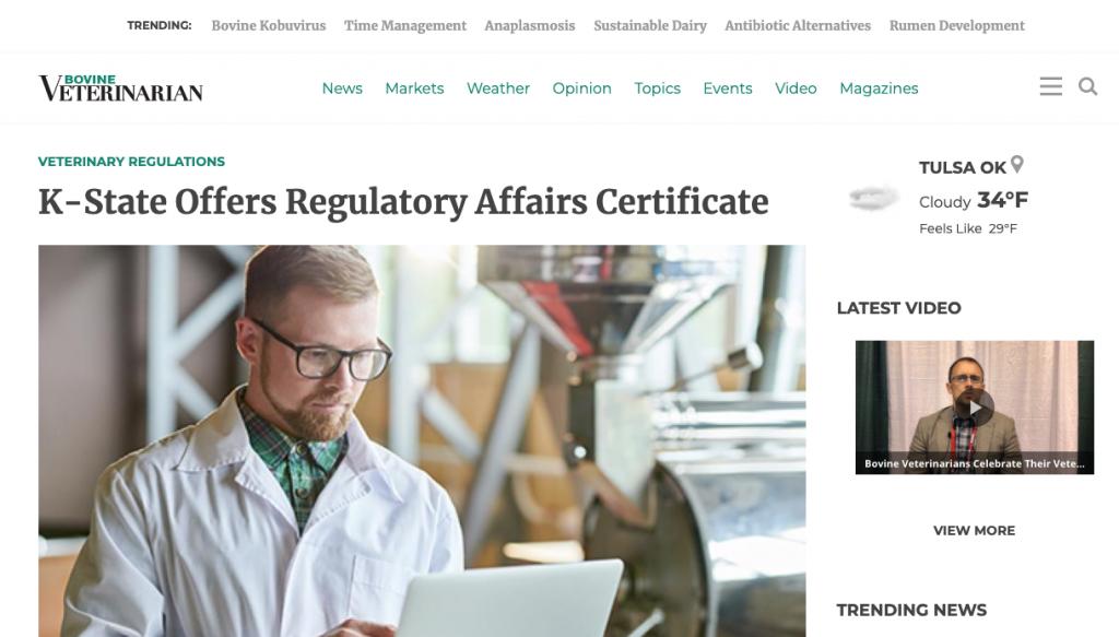 Bovine Vet Online Kstate Regulatory Affairs