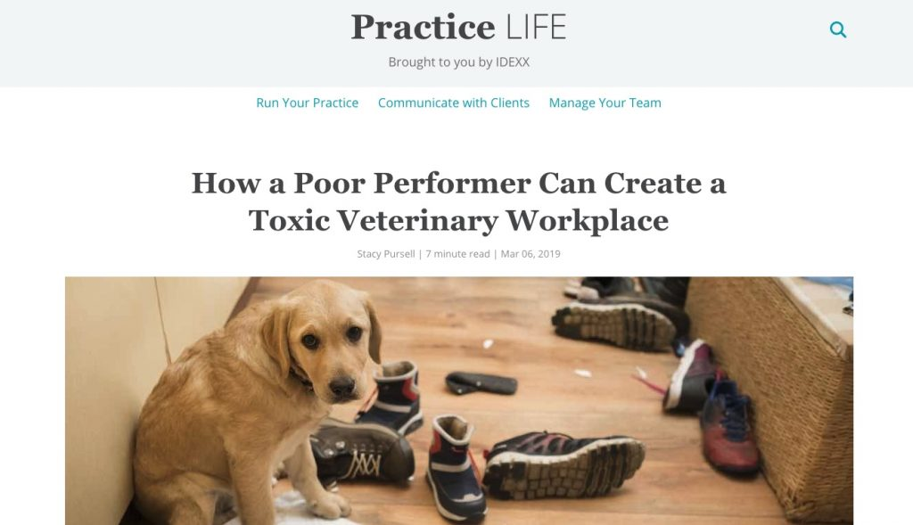 Practice Life How A Poor Performer Can Create Toxic Workplace