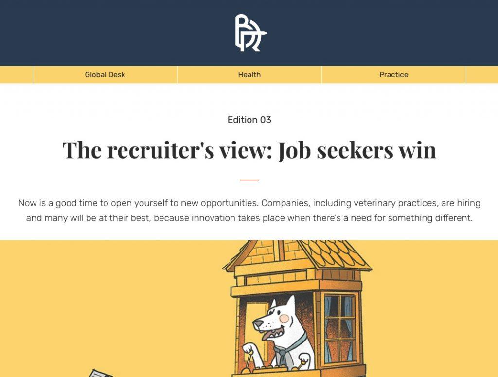 The Vet Recruiter Bowman Report Recruiters View